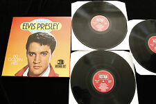 Elvis Presley 60 GOLDEN HITS- 3 LPS  - NEAR MINT 1984 ASTAN 9013/3 - GERMANY