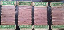 Vintage 'menda' Medias Hilo x 4