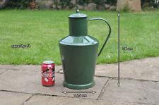 Vintage old enamel enamelled metal jug water milk wine can churn 5L FREE POSTAGE