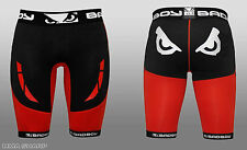 Bad Boy Men's Sphere Compression Shorts MMA Large Black/Red