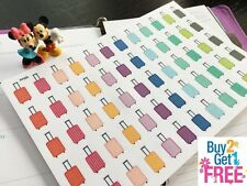 PP225 -- Small Luggages Life Planner Stickers for Erin Condren (60pcs)