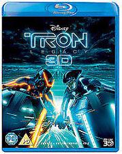 Tron Legacy [Blu-ray][Region Free], Good Condition DVD, ,