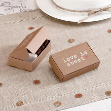BROWN VINTAGE-STYLE CAKE BOXES x10-Shabby Chic Wedding/Party-FULL RANGE IN SHOP!