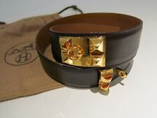 Authentic Hermes From 1993 Collier De Chien Belt 68