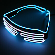 Glow LED Glasses Light Up Shades Flashing Rave Festival Party Glasses New Lot BE