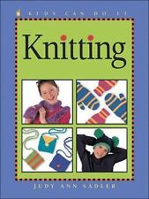 Knitting (Kids Can Do It)-ExLibrary
