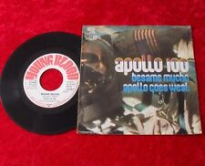"Single 7"" Apollo 100-Besame mucho/Apollo goes west"