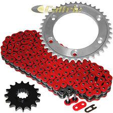 Red O-Ring Drive Chain & Sprockets Kit Fits HONDA RVT1000R RC51 2000-2006