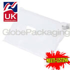STRONG WHITE POSTAL PLASTIC POSTAGE POLY MAILING BAGS MAILERS *ALL SIZES/QTY'S*