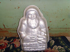 Santa Claus in Chimney 3D cake pan standing NO CLIPS cake decorating Christmas