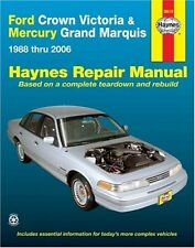 Ford Crown Victoria & Grand Marquis Repair Manual Haynes Service Shop Book 36012
