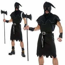 Executioner Medieval Warrior Dungeon Master Halloween Adult Mens Fancy Costume