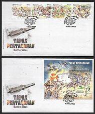 2016 MALAYSIA FDC - TOURIST DESTINATION KEDAH & KELANTAN