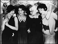CLARA BOW JEAN ARTHUR JEAN HARLOW EDNA MAY OLIVER 8x10 PHOTO SET PICTURE