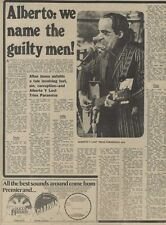 M14/9/74PM42 Alberto y lost trios paranoias : we name the guilty men Article & P