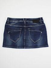 Blend denim womens Size 12 euro 40 blue denim short mini skirt