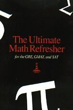 The Ultimate Math Refresher for the GRE, GMAT, and SAT, Inc, Lighthouse Review,