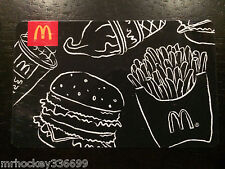 2011 McDonald's Menu Black & White collectors ARCH card GIFT CARD NCV