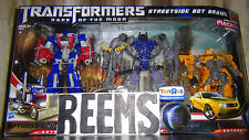 TRANSFORMERS DARK OF THE MOON MECHTECH OPTIMUS PRIME,SHOCKWAVE,BUMBLEBEE TRU EX