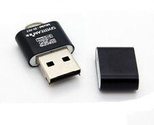 High Speed USB 2.0 Micro SD TF T-Flash Memory Card Reader Adapter For PC BLACK