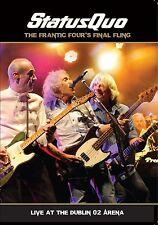 STATUS QUO - FRANTIC FOUR'S FINAL FLING-LIVE IN DUBLIN  DVD + CD NEU