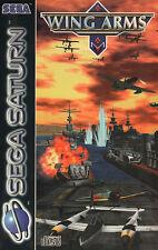 ## Wing Arms (mit OVP) - SEGA SATURN Spiel - TOP ##