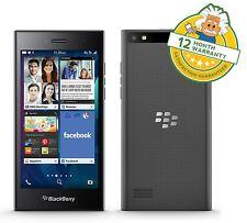 BlackBerry Leap Sombra Gris Desbloqueado 4G LTE 16Gb Pantalla Táctil Teléfono Inteligente Grado B