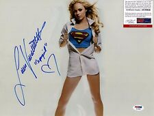 LAURA VANDERVOORTSigned 11X14 Photo PSA/DNA #AC34626 SMALLVILLE
