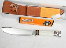 MARBLE'S USA-1999 North Woods Big Game Skinner w pearl handle, sheath scarce NIB
