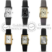 Sekonda Ladies Classic Leather Strap Watch Gold Or Silver Case RRP £29.99