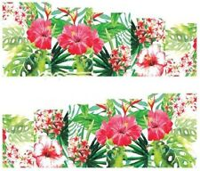 Nail Art Decals Transfers Stickers Flowers & Ferns (A-157)