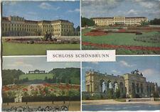 Alte Postkarte - Wien - Impressionen von Schloss Schönbrunn
