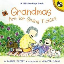 Lift-The-Flap, Puffin: Grandmas Are for Giving Tickles by Harriet Ziefert (2000,