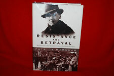 Resistance And Betrayal Patrick Marnham 1st Edition Hardcover 2000 Free Shipping