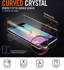 5 x CURVED FIT Screen Protector + 5 x BACK FILM for Samsung Galaxy S6 EDGE+ PLUS
