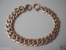 Antike Uhr Kette Taschenuhrkette oder Armband Hartvergoldet 15,8 g/19,5 cm