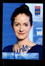 Judith Weissenböck ORF Foto Original Signiert ## BC 69403