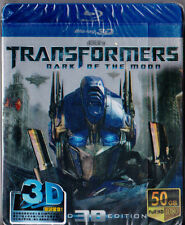 Transformers Dark of The Moon 3D Bluray with Metal case