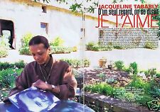 Coupure de presse Clipping 1999 Jacqueline Tabarly (6 pages)