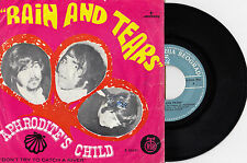 """APHRODITE'S CHILD RAIN AND TEARS / DON'T TRY TO 1968 RECORD YUGOSLAVIA 7"""" PS"""