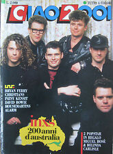 CIAO 2001 10 1988 INXS Bowie Bryan Ferry Patsy Kensit Housemartins Christians