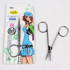 Stainless Steel Mustache Nose Hair Scissors Eyebrows Nail Trimmer Tool BP