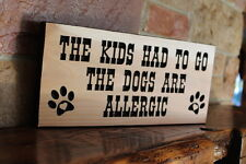 Personalized Custom Rustic Wooden Carved Wood Plaque Garden Decor Sign Routed
