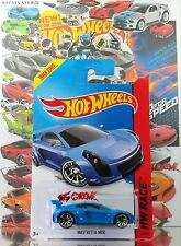 Hot Wheels 2014 #160 Mastretta MXR BLUE,1stCOLOR,NEW CASTING,10SP,BLACK BASE,INT