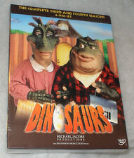 Dinosaurs Complete Seasons Series 3 & 4 DVD Box Set - BRAND NEW & SEALED