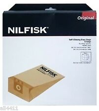 5 SAC ASPIRATEUR NILFISK 82222900 FAMILY BUSINESS GD 710 1000 GDS 1010 82222800