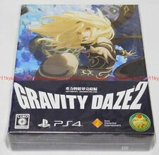 New PS4 GRAVITY DAZE 2 First Limited Edition Japan F/S PlayStation 4 PCJS-50010