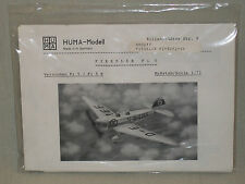 Huma Modell 1/72 Scale German Fieseler Fi 5 Trainer - Factory Sealed