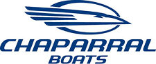 "Chaparral Boat  Vinyl Sticker Decal 12""x5"" You Get 2 w/ free shipping any color"