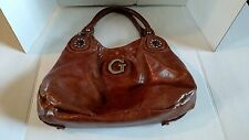 GUESS   Large Brown Bag, Purse Satchel, Shoulder Bag Used
